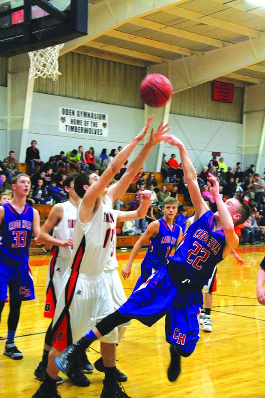 Oden Vs Caddo Hills Junior Boys Game Southwest Arkansas News